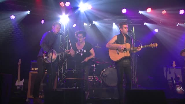 Brooklyn's breakout band American Authors brought their indie pop rock sound to the JBTV stage with their song '