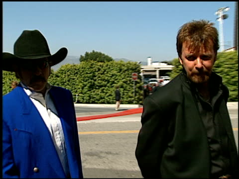 brooks and dunn at the 1999 academy of country music awards at universal studios in universal city california on may 5 1999 - academy of country music awards stock videos & royalty-free footage