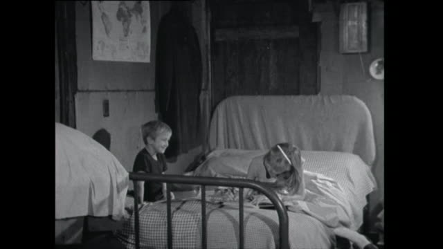 brother and sister do homework on bed - 1961 stock videos & royalty-free footage