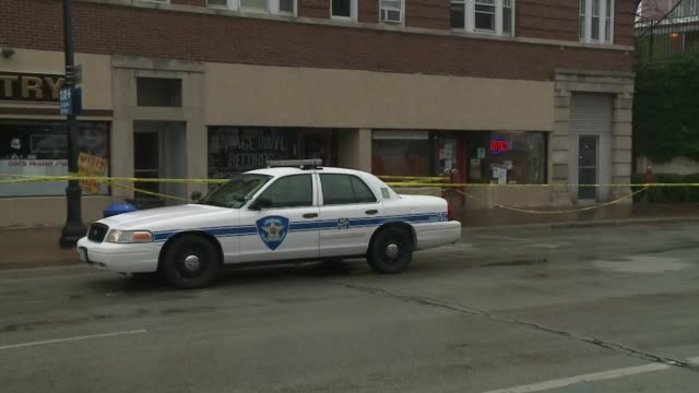 2 brothers Azim and Moveen Hakim were found dead in their Tobacco Shop Evanston Pipe And Tobacco Police In Front Of Evanston Pipe And Tobacco on July...