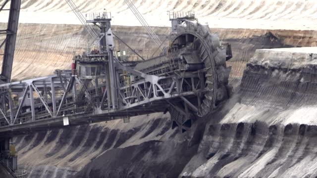 Brown Coal Mining in Garzweiler, North Rhine-Westphalia, Germany
