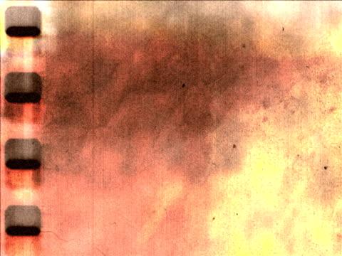 Brown grunge film background