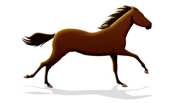 brown horse running - horse stock videos & royalty-free footage