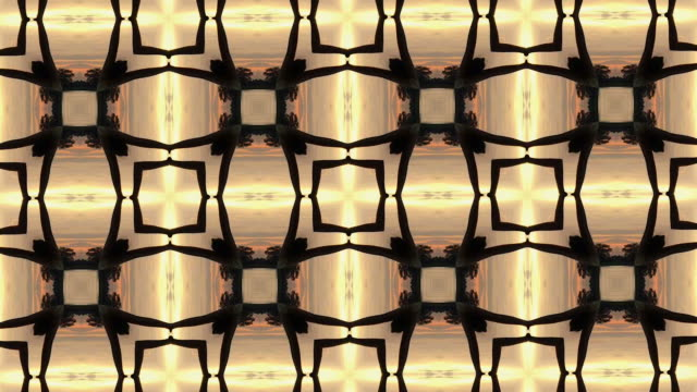 brown kaleidoscope