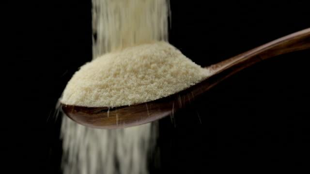 brown sugar - overflowing stock videos & royalty-free footage