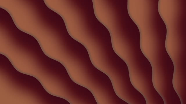 brown wavy background - smooth stock videos & royalty-free footage