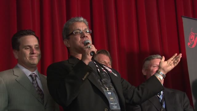 bruce buffer at the world poker tour celebrity invitational at city of commerce ca - bruce stock videos & royalty-free footage