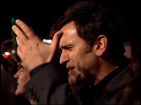 bruce campbell at the premiere of 'the majestic' at grauman's chinese theatre in hollywood, california on december 11, 2001. - bruce campbell stock videos & royalty-free footage