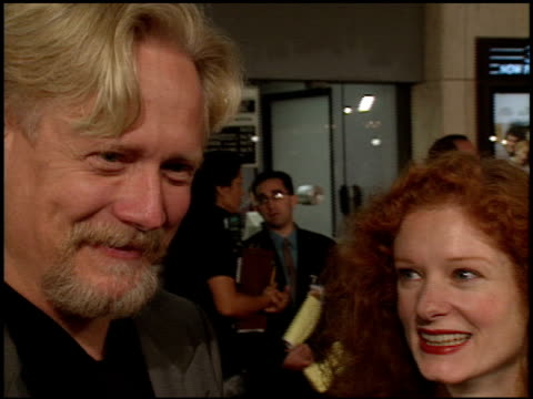 bruce davison at the 'one true thing' premiere at cineplex odeon in century city, california on september 16, 1998. - odeon cinemas点の映像素材/bロール