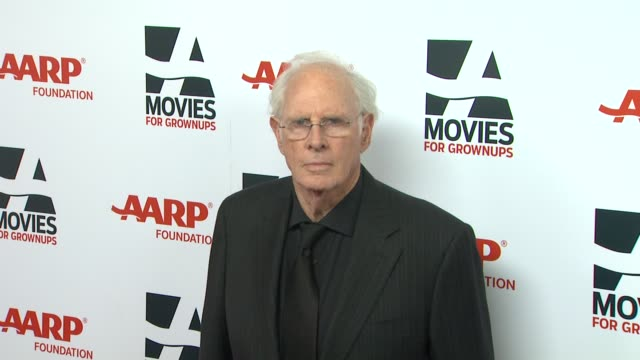 bruce dern at 13th annual aarp's movies for grownups awards gala at regent beverly wilshire hotel on in beverly hills, california. - regent beverly wilshire hotel stock videos & royalty-free footage