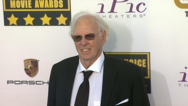 Bruce Dern at 19th Annual Critics' Choice Movie Awards Arrivals at The Barker Hanger on in Santa Monica California