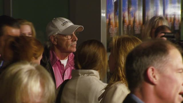 bruce dern at the 'the astronaut farmer' premiere at the cinerama dome at arclight cinemas in hollywood california on february 20 2007 - the astronaut farmer stock videos and b-roll footage