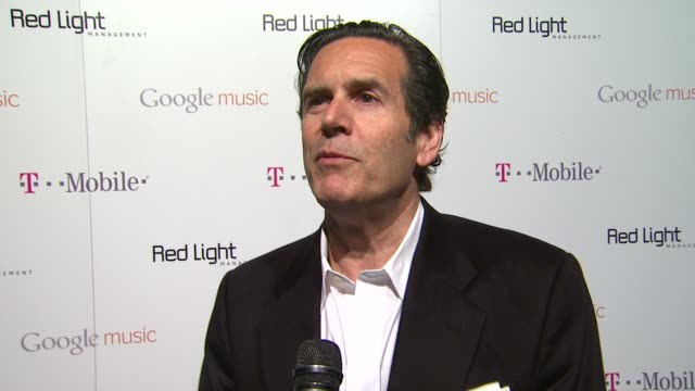 bruce eskowitz coo of red light management on the grammys on tonight's event and on the google magnifier at red light management postgrammy... - google brand name stock videos and b-roll footage