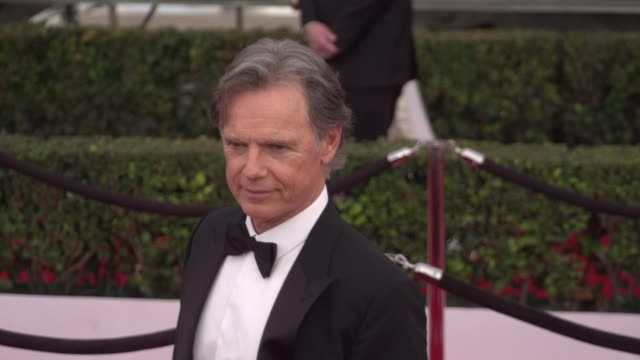 bruce greenwood at the 22nd annual screen actors guild awards - arrivals at the shrine auditorium on january 30, 2016 in los angeles, california. 4k... - shrine auditorium stock videos & royalty-free footage