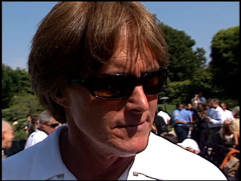 Bruce Jenner at the Playboy Fight Night at Playboy Mansion in Los Angeles California on July 9 2002