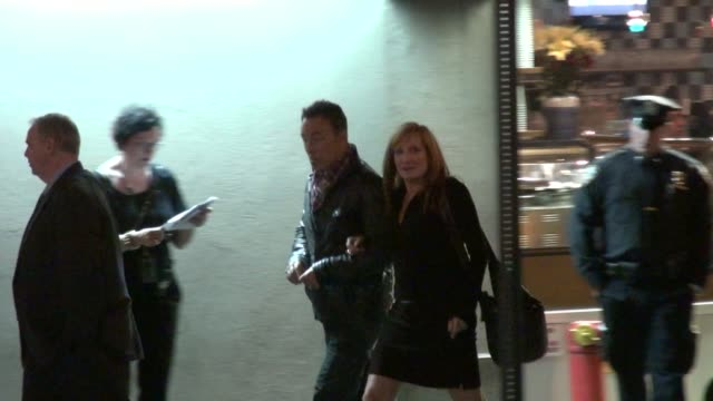 Bruce Springsteen at Stings 60th Birthday Concert at The Beacon Theater in New York 10/01/11