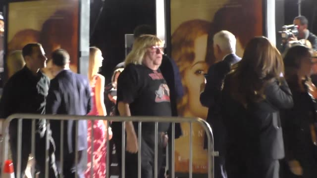 bruce vilanch at 'the danish girl' premiere at the fox theater, westwood village at celebrity sightings in los angeles on november 21, 2015 in los... - westwood village stock videos & royalty-free footage