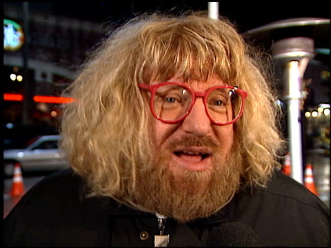 bruce vilanch at the 'hanging up' premiere on february 16, 2000. - hanging up stock videos & royalty-free footage