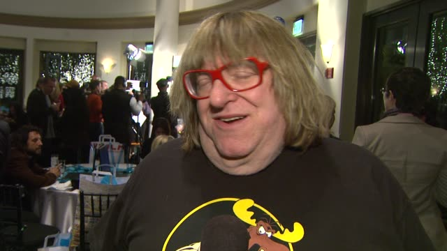 stockvideo's en b-roll-footage met bruce vilanch on co hosting this event at the 14th annual women's image network awards on 12/12/12 in los angeles ca - women's image network awards