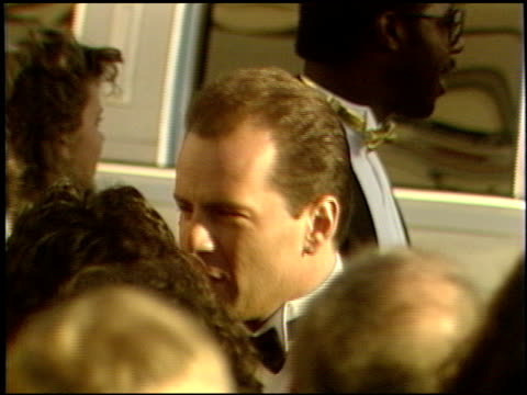 Bruce Willis at the 1989 Academy Awards at the Shrine Auditorium in Los Angeles California on March 29 1989