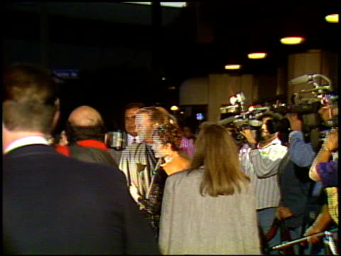 bruce willis at the 'hudson hawk' premiere on may 20 1991 - bruce willis stock videos and b-roll footage