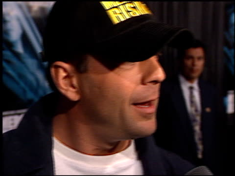 Bruce Willis at the 'Mercury Rising' Premiere at Academy Theater in Beverly Hills California on April 1 1998