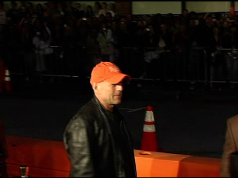 Bruce Willis at the 'Sin City' Los Angeles Premiere at the Mann National Theatre in Westwood California on March 28 2005