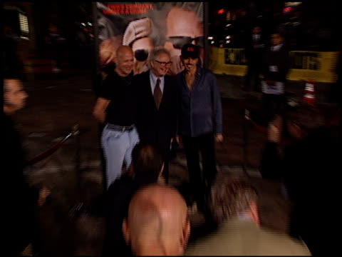 Bruce Willis Barry Levinson and Billy Bob Thornton at the 'Bandits' Premiere on October 4 2001