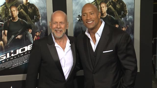 retaliation los angeles premiere 3/28/2013 in hollywood ca - bruce willis stock videos and b-roll footage