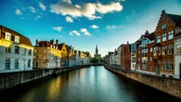 Bruges Belgium architecture and nature  landmark