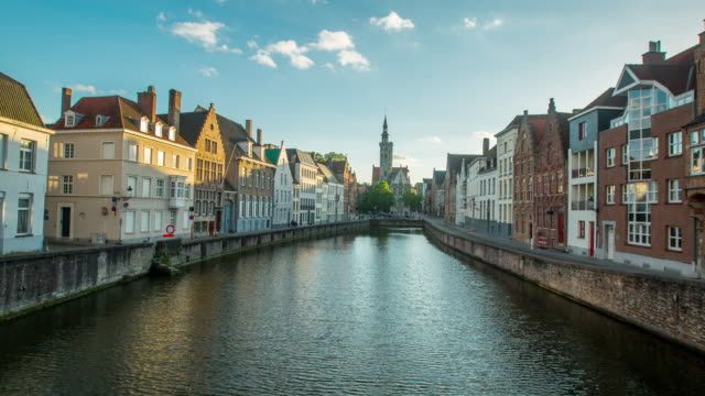 bruges belgium architecture - square stock videos & royalty-free footage
