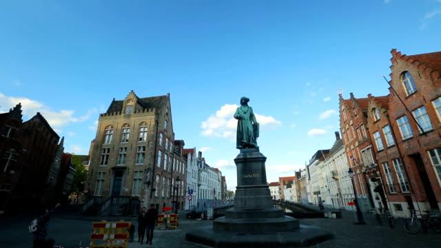 vidéos et rushes de architecture de bruges belgique - belgique
