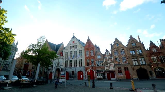 vidéos et rushes de architecture de bruges belgique - brique