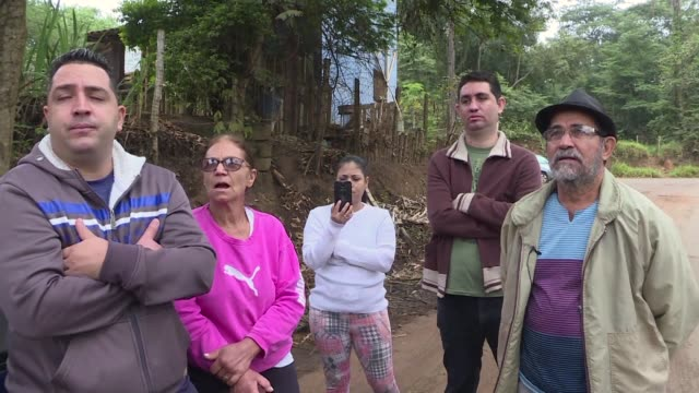 brumadinho residents recounts how their neighbours evacuated after the siren warning of an imminent mining dam rupture went up in the same brazilian... - ruined stock videos & royalty-free footage