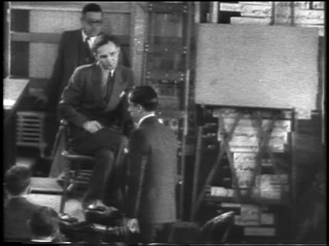 bruno hauptmann testifying on stand at kidnapping trial / flemington nj / newsreel - 1935 stock videos & royalty-free footage