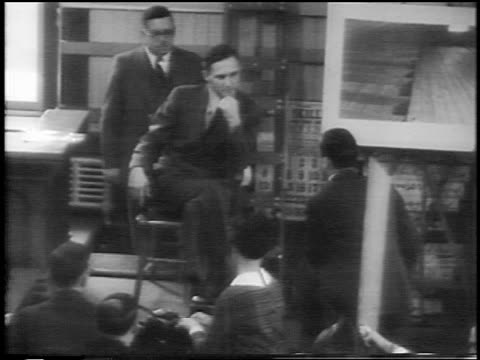 bruno hauptmann testifying on stand at kidnapping trial / flemington, nj / newsreel - 1935 stock videos & royalty-free footage