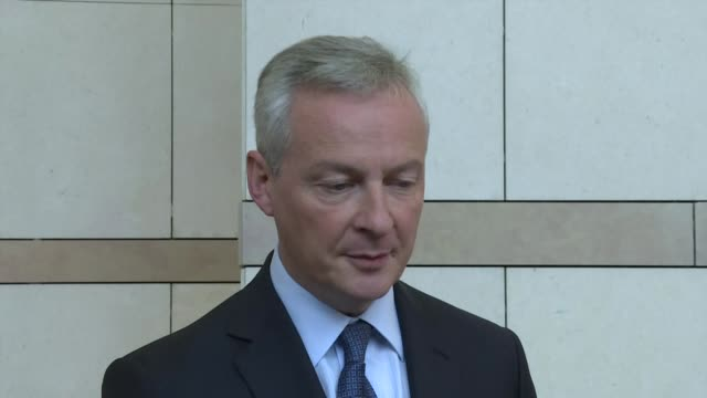 bruno le maire says the possibility of a merger between fiat and psa is good news for the french industry and for the european industry adding that... - psa stock videos & royalty-free footage