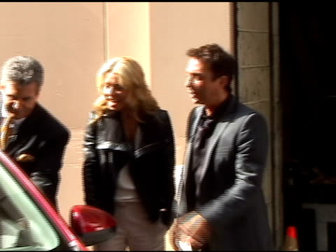 bruno tonioli and kelly ripa check out the new cars from the ny auto show on the set of 'live with regis & kelly' in new york 04/21/11 - the cars stock videos & royalty-free footage