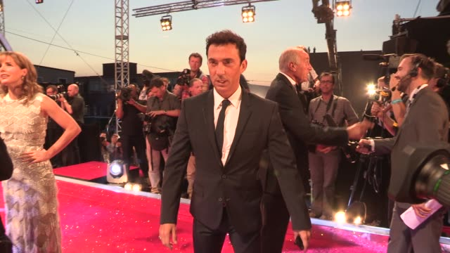 bruno tonioli at strictly come dancing at elstree studios on september 03 2013 in borehamwood england - ハートフォードシャー点の映像素材/bロール