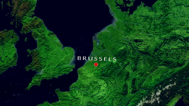 brussels 4k  zoom in - zoom in stock videos & royalty-free footage
