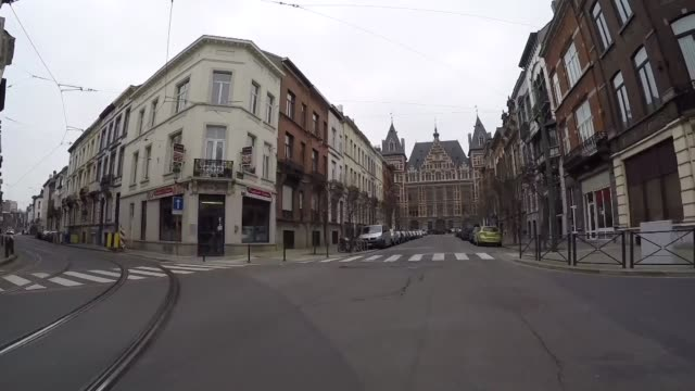 main suspects and atmosphere in city int car s point of view along streets of molenbeek schaarbeek ext low angle view cafe window 'a la maison' int... - pain au chocolat stock videos and b-roll footage