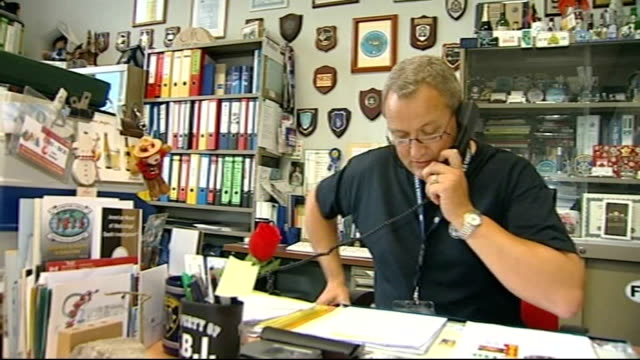 brussels int general view of specialist police officers involved in madeleine mccann disappearance investigation working in office commissioner alain... - missing persons stock videos & royalty-free footage