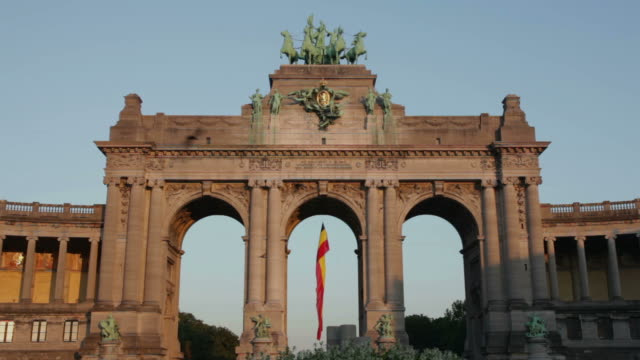 brussels - monument stock videos & royalty-free footage