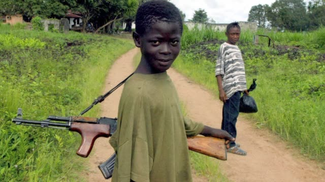 Brutalised and ravaged by war the child soldiers who were both victims and perpetrators of Liberias 14 year conflict are fighting a new battle...