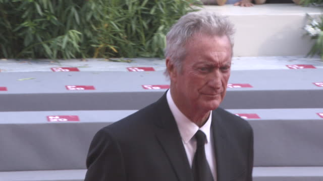 bryan brown at 'sweet country' red carpet - 74th venice international film festival at palazzo del casino on september 06, 2017 in venice, italy. - 74th venice film festival stock videos & royalty-free footage