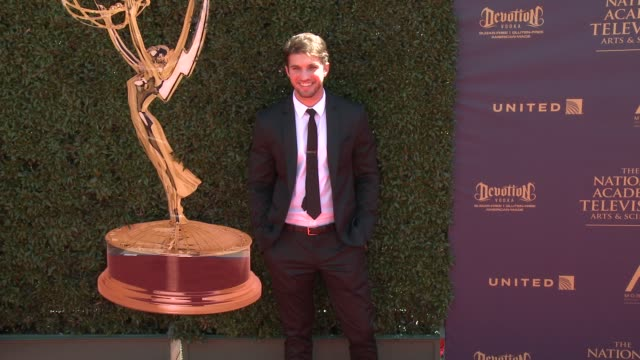 bryan craig at the 44th annual daytime emmy awards at pasadena civic auditorium on april 30 2017 in pasadena california - pasadena civic auditorium stock-videos und b-roll-filmmaterial