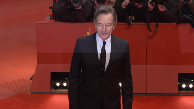 Bryan Cranston at 68th Berlin Film Festival Isle of Dogs Opening Red Carpet at Berlinale Palast on February 15 2018 in Berlin Germany