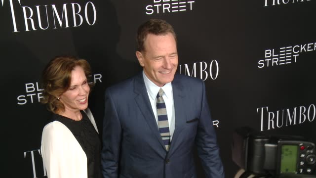 Bryan Cranston at the Trumbo Los Angeles Premiere at the Academy of Motion Picture Arts and Sciences on October 27 2015 in Beverly Hills California
