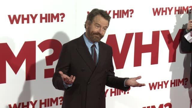 Bryan Cranston at the Why Him World Premiere at Regency Bruin Theater on December 17 2016 in Westwood California