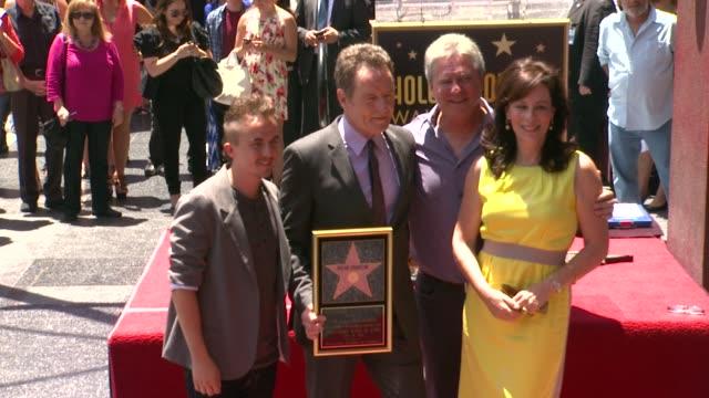 Bryan Cranston Frankie Muniz and Jane Kaczmarek at Bryan Cranston Honored With Star On The Hollywood Walk Of Fame Bryan Cranston Frankie Muniz and...
